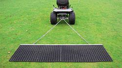 Резиновая сетка для смешивания песка и резинового наполнителя