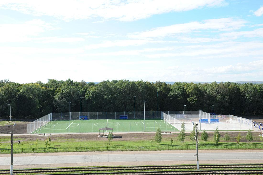 Стадион Чайка г.Нижнекамск