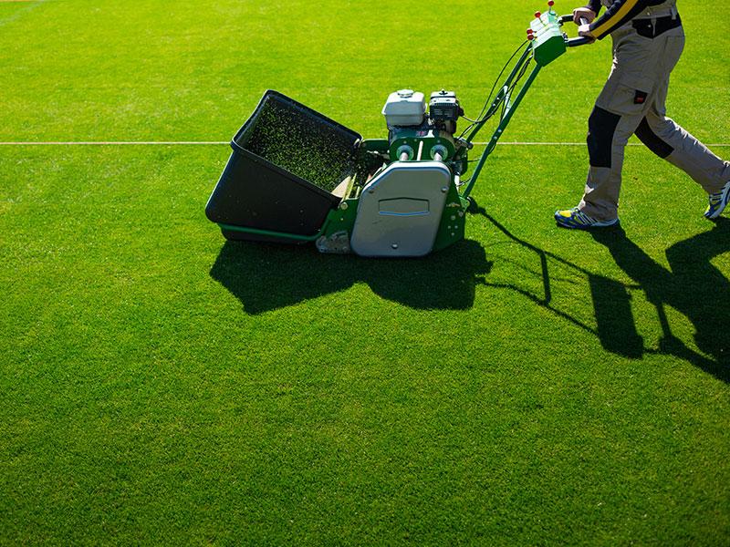 подготовка футбольного поля к проведению соревнований