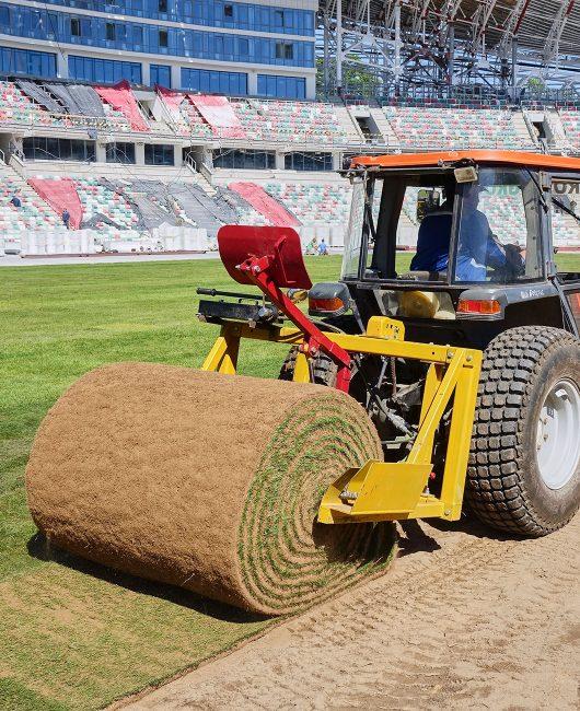строим футбольные поля в регионах России и ближнего зарубежья